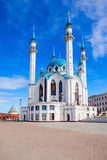 The Kul Sharif Mosque. Is a one of the largest mosques in Russia.  is located in Kazan city in Russia stock photography