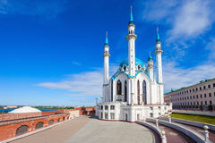 The Kul Sharif Mosque. Is a one of the largest mosques in Russia.  is located in Kazan city in Russia royalty free stock image