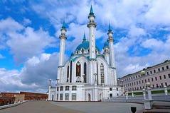 Kul-Sharifmoschee in Kasan der Kreml Stockfotos