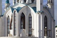 Kul sharifmoské i kremlin, kazan, ryssfederation Arkivbilder