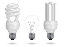 Kula för energieffektivitet vektor illustrationer