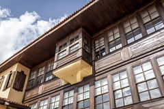 Kula Houses. Old houses in turkey anatolia with sky Stock Images