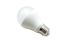 kula isolerad ljus white Arkivfoto