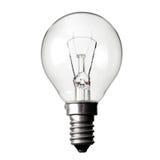 kula isolerad ljus white Arkivfoton
