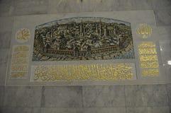 Kula Sharif meczet w Kazan Kremlin fotografia royalty free