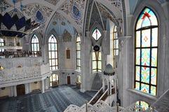Kula Sharif meczet w Kazan Kremlin zdjęcia stock