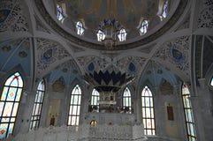 Kula Sharif meczet w Kazan Kremlin zdjęcie stock
