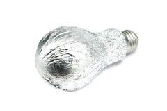Kula som slås in i aluminum folie Royaltyfri Bild