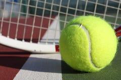 kula tenis racquet obrazy stock