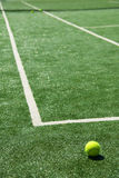 kula tenis sądu Fotografia Stock