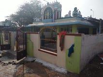 Kula van de dorpentempel theivam royalty-vrije stock afbeeldingen