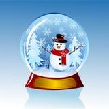 kula ziemska śnieg ilustracja wektor