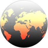 kula ziemska świat ilustracji