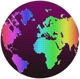 kula ziemska świat ilustracja wektor