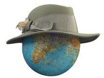 kula ziemska kapelusz Zdjęcie Stock