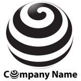 kula ziemska logo Fotografia Royalty Free