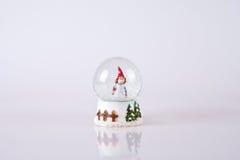 kula ziemska śnieg Obraz Royalty Free