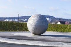 Kula ziemska przy kwaterami głównymi sławny kamery manufactur Leitz Fotografia Royalty Free