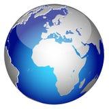 kula ziemska świat Obrazy Royalty Free