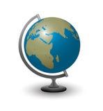Kula ziemska z Afryka Europa i Azja Zdjęcia Royalty Free