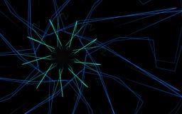Kula ziemska z liniami Zdjęcie Stock