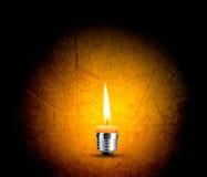 kulabegreppslampa Arkivfoto