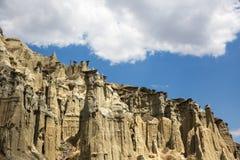 Kuladokya是geolocigal区域在库拉,马尼萨,土耳其 免版税库存图片