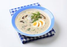 Kulajda Cream Soup Stock Image