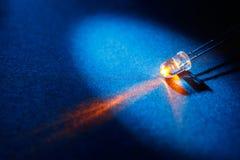 kulan förde lampa royaltyfri bild