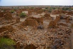 Kuldhara abandoned village. Rajasthan. India Royalty Free Stock Photography