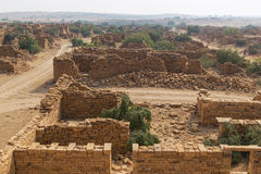 Kuldhara village in Jaisalmer, India Royalty Free Stock Photography