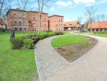 Kuldiga town , Latvia Royalty Free Stock Image