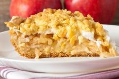 Kulebiak z jabłkami Obrazy Royalty Free