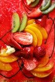 Kulebiak z owoc Zdjęcie Royalty Free