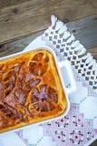 Kulebyaka απόκομμα-πίτα λάχανων Στοκ φωτογραφίες με δικαίωμα ελεύθερης χρήσης