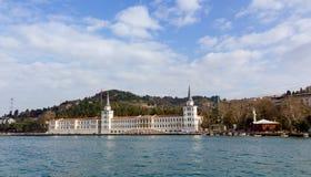Kuleli军事高中,伊斯坦布尔,土耳其 免版税库存图片