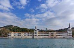 Kuleli Askeri Lisesi, Istanbul, die Türkei Lizenzfreies Stockbild