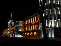 Kuleli Militarna szkoła średnia przy nocą Fotografia Stock