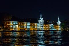 Kuleli military high school, Bosphorus, Istanbul, Turkey Stock Photography