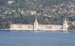Kuleli Military High School in Istanbul Royalty Free Stock Images