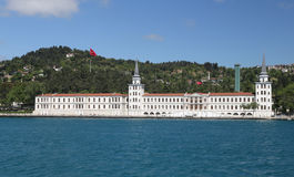 Kuleli Military High School in Istanbul City Stock Image
