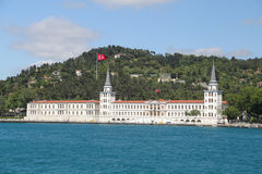 Kuleli Military High School in Istanbul City Royalty Free Stock Photo