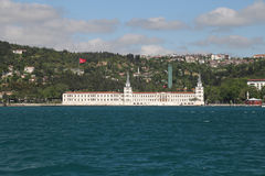 Kuleli Military High School in Istanbul Royalty Free Stock Photos