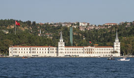 Kuleli Military High School in Istanbul Royalty Free Stock Image
