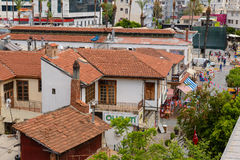 Kulesi district, Antalya city center, Turkey Royalty Free Stock Images