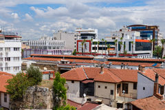 Kulesi district, Antalya city center, Turkey Royalty Free Stock Photo