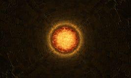 kuli ognistej giganta tunel Obraz Stock