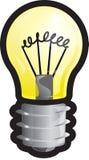 kuli ziemskiej światło Zdjęcie Stock