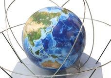 kuli ziemskiej ampuła zdjęcie stock