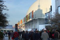 Kuli ziemskiej arena, Sztokholm Zdjęcie Stock